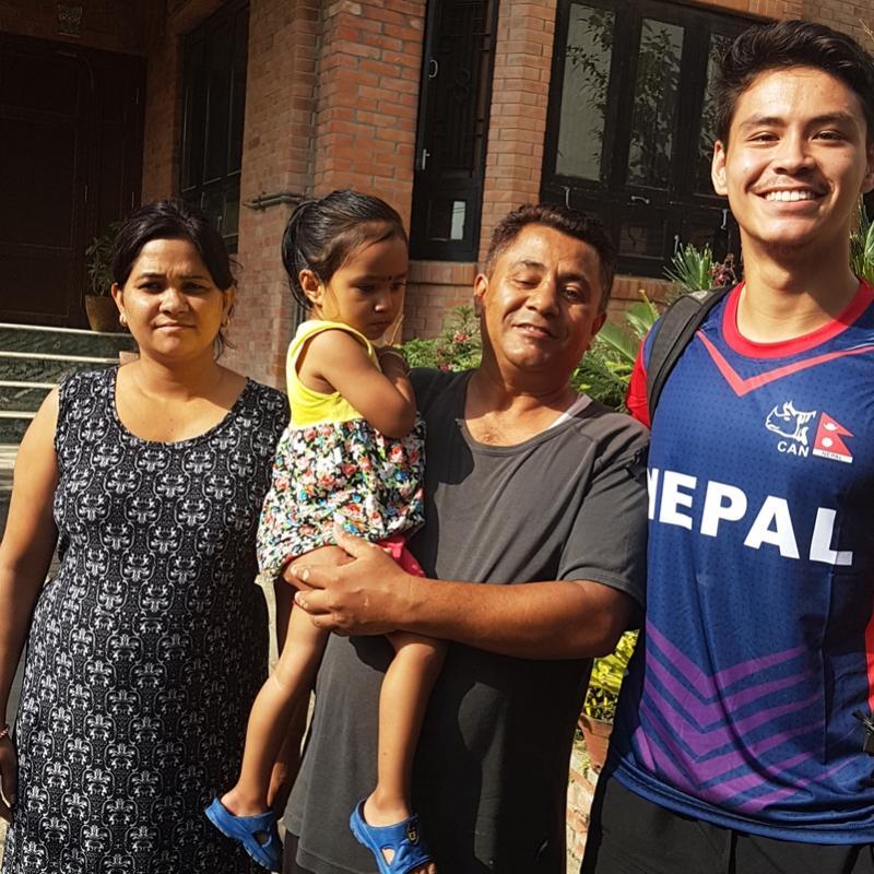 Harry C in Nepal